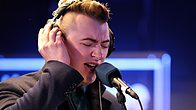 Click to play clip: Sam Smith catches up with Jo Whiley at the BRITs