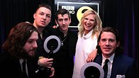 Click to play clip: Arctic Monkeys talk to Jo Whiley at the BRITs