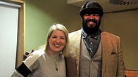 Click to play clip: Gregory Porter joins Clare Teal in the studio