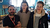 Click to play clip: Drenge chat to Shaun Keaveny