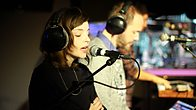 Click to play clip: Chvrches - Recover in the Live Lounge