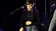 Click to play clip: Chvrches - Team in the Live Lounge